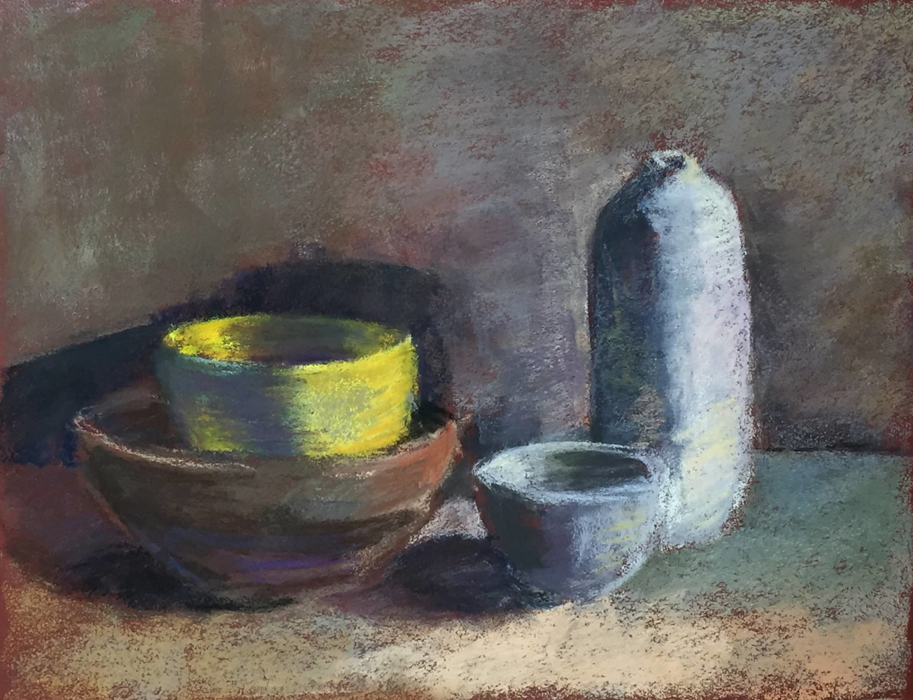 Still Life With Yellow Bowl by Cynthia Nockold