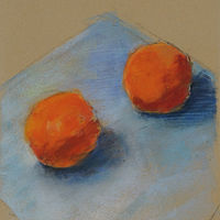 Oranges by Cynthia Nockold