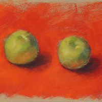 Apples study by Cynthia Nockold