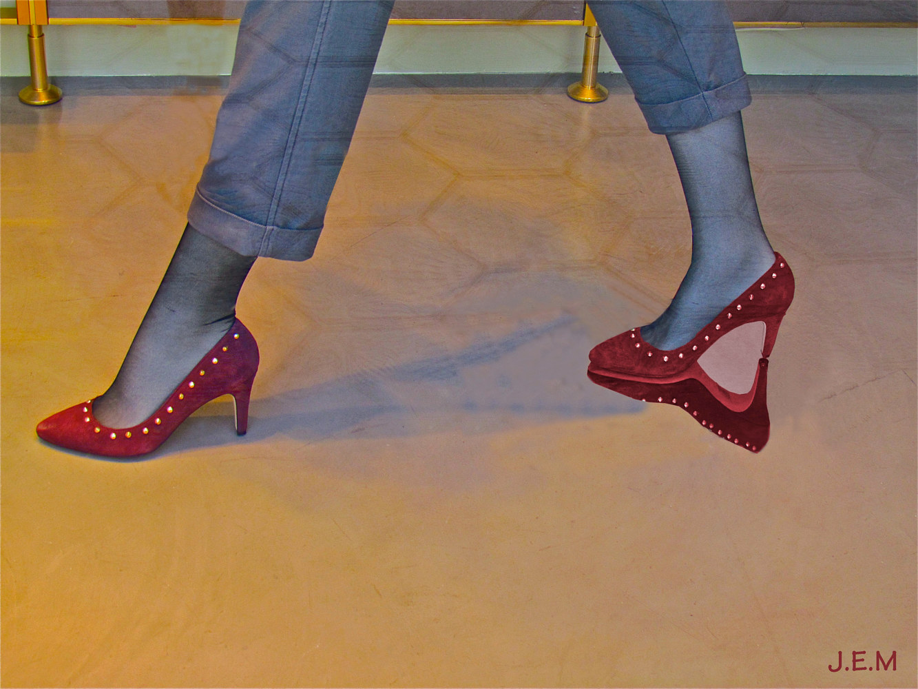 Photography RED SHOES ~ Character by Joeann Edmonds-Matthew