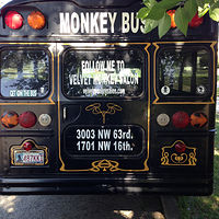 Monkey Bus by Elizabeth Mercer