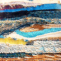 Woven country by Mary Chalmers Main