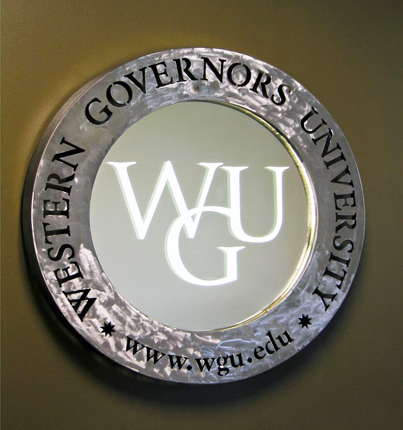 WGU Signage by Dan Cummings