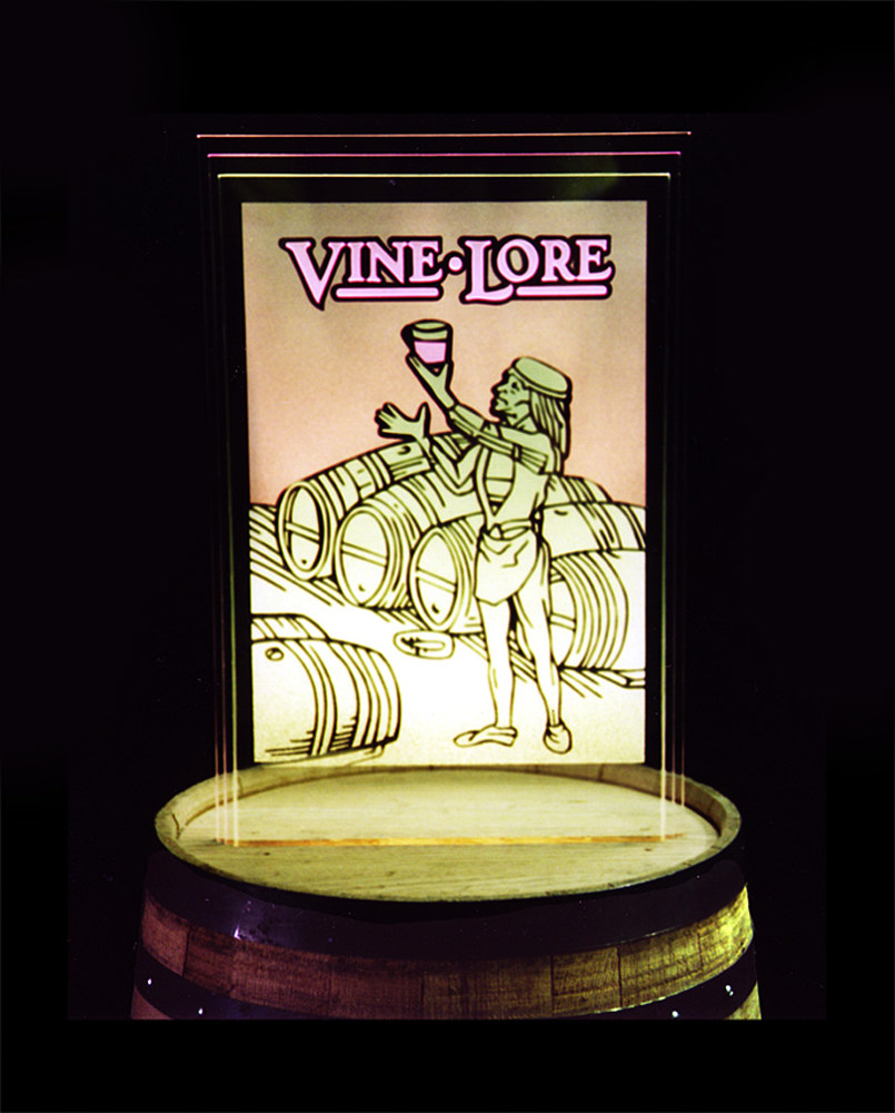 Vine Lore...corporate logo by Dan Cummings