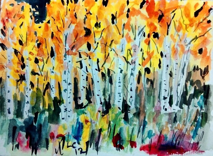 Aspen Blaze by Larry Carter