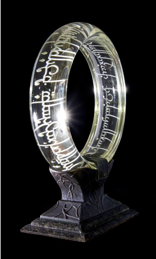 Sculpture The One Ring...lights off by Dan Cummings