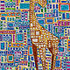 Acrylic painting Circus Giraffe by Donna Howard