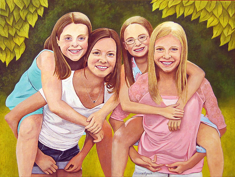 The Miller Girls-2014 by Susan Lynch