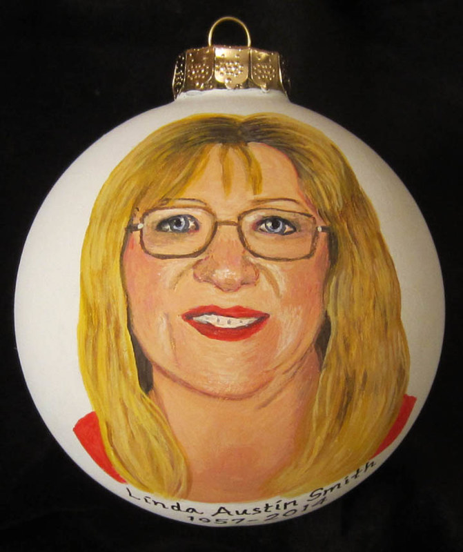 Painting Memorial Ornament by Susan Lynch