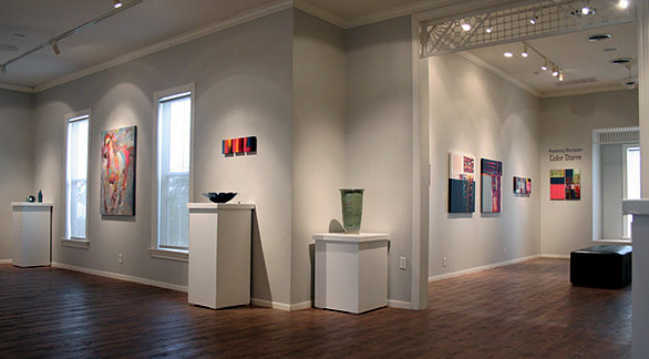 'Color Storm' solo exhibition, Rockport (TX) Center for the Arts, by Hooshang Khorasani