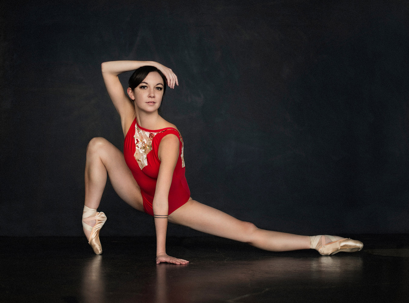 Emily with the Houston Ballet by Doug Berry