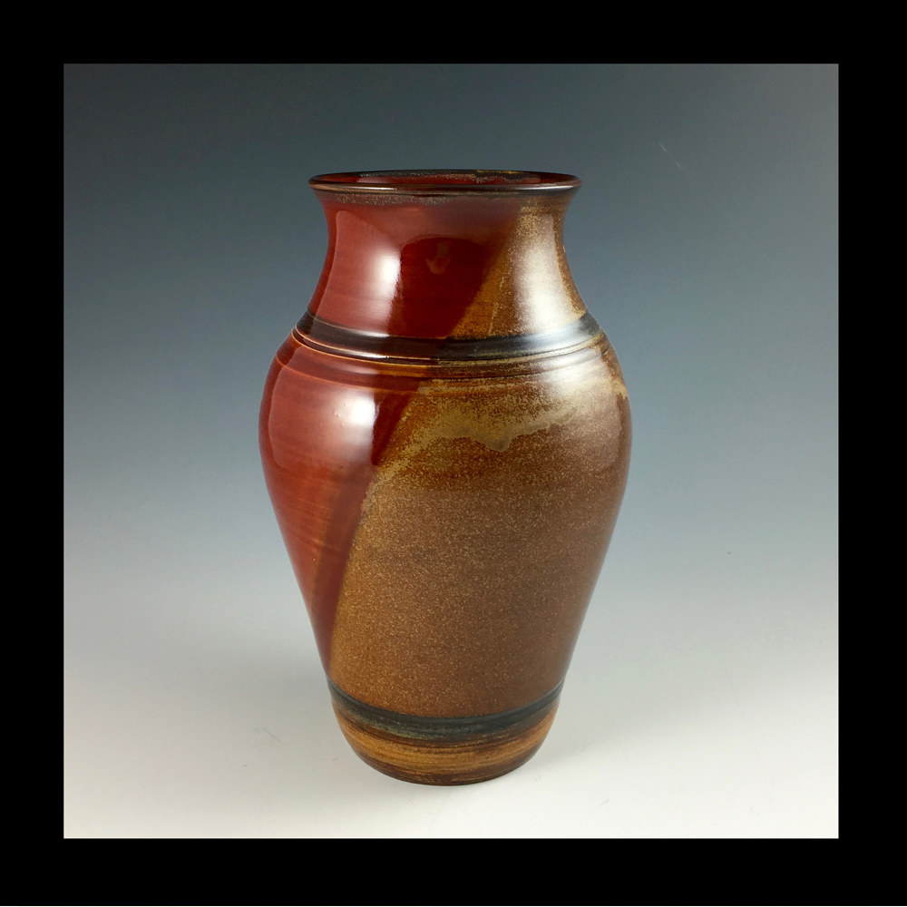 RED VASE SMALL by Elaine Clapper