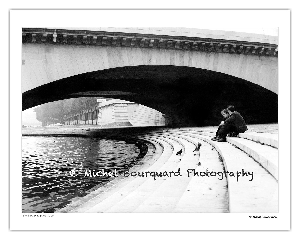 Paris_ Sous Les Ponts_1963_ by Michel Bourquard