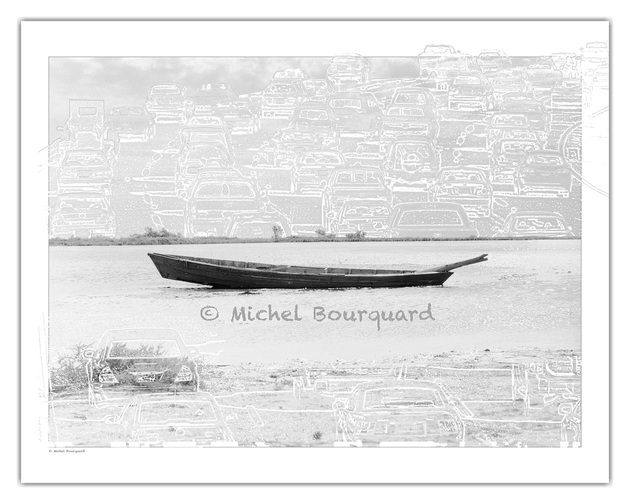 finding the peace away from the city  by Michel Bourquard