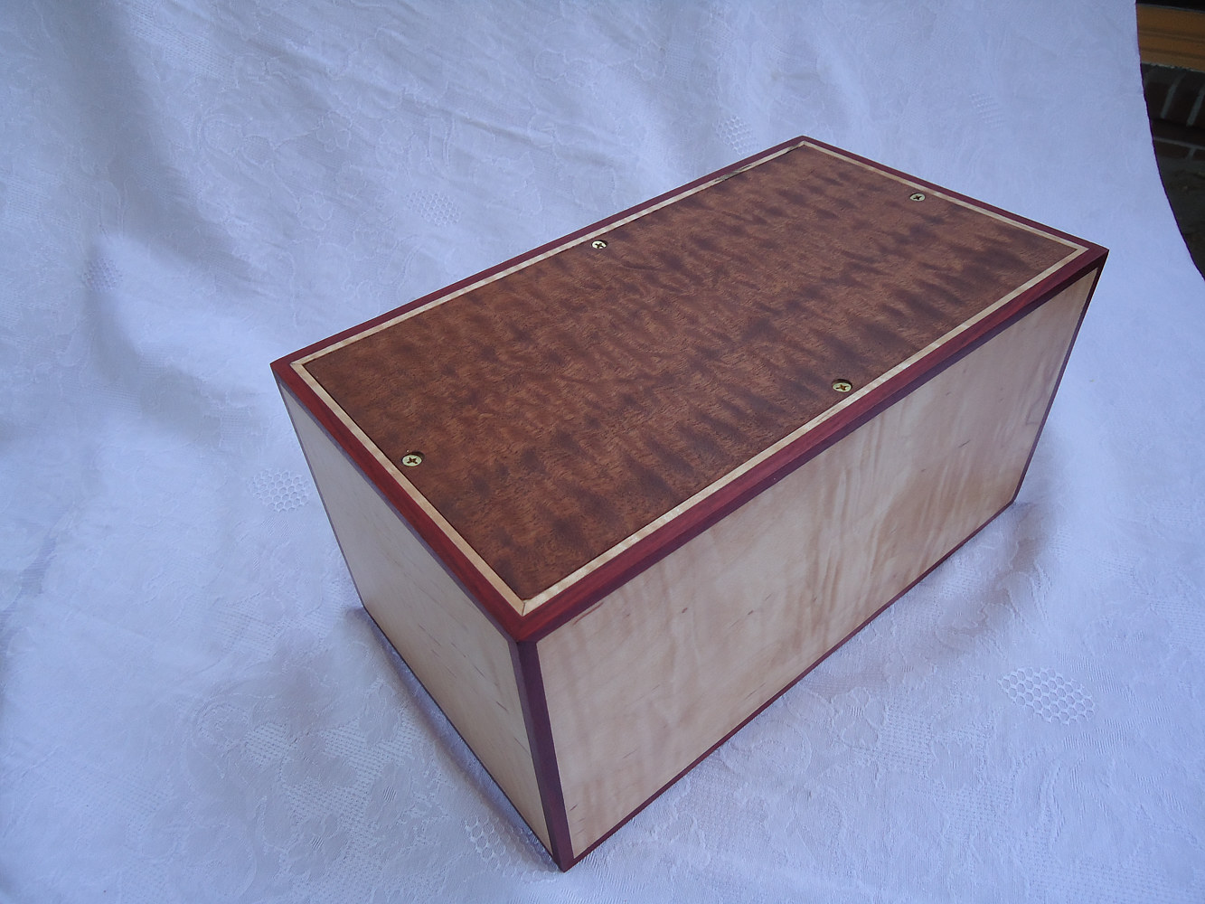 Cremain box for David L. Marcotte by Ken  Vick
