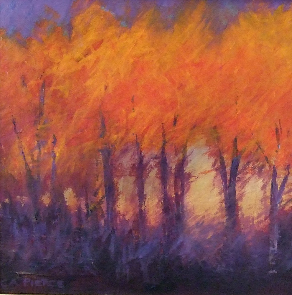 Autumn Glow  by Carol Pierce