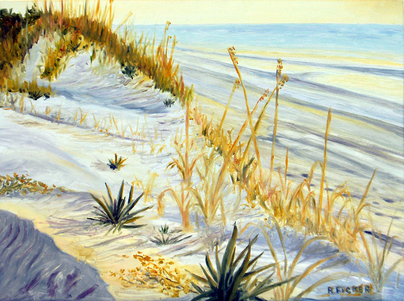 Print Sand Dune by Richard Ficker