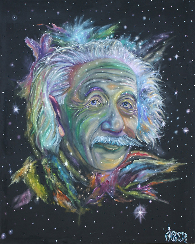 Print Einstein Nebular by Richard Ficker