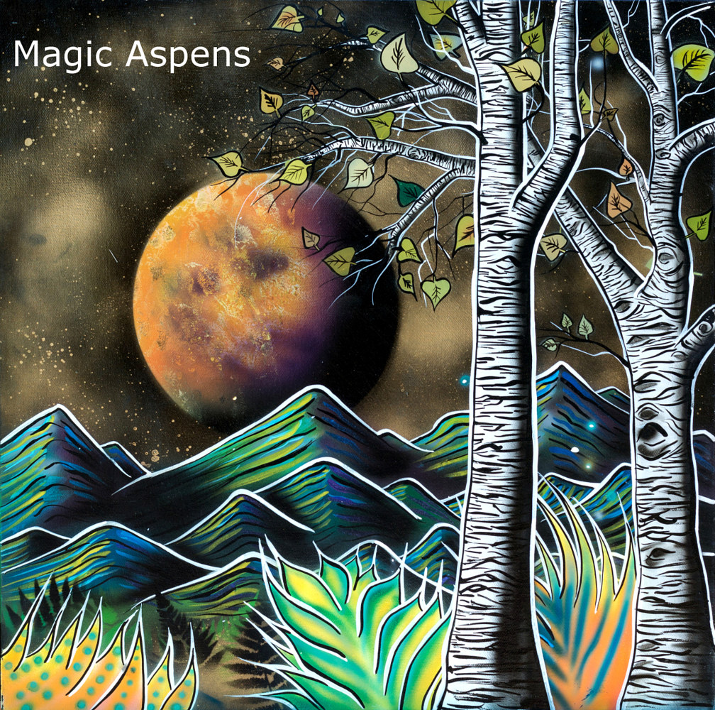Magic Aspens  by Isaac Carpenter
