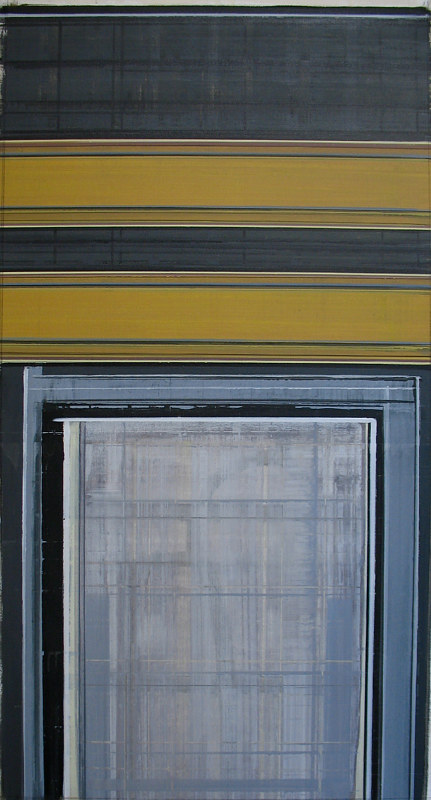 "Acrylic painting ""Double Line"" by Brad Nuorala"