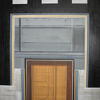 "Acrylic painting ""Openings"" by Brad Nuorala"