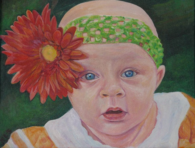 baby Bernadette by Nancy Sharp