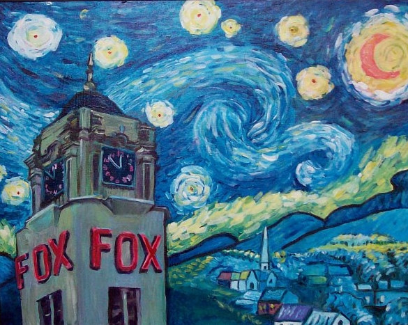Fox Theater by Nancy Sharp