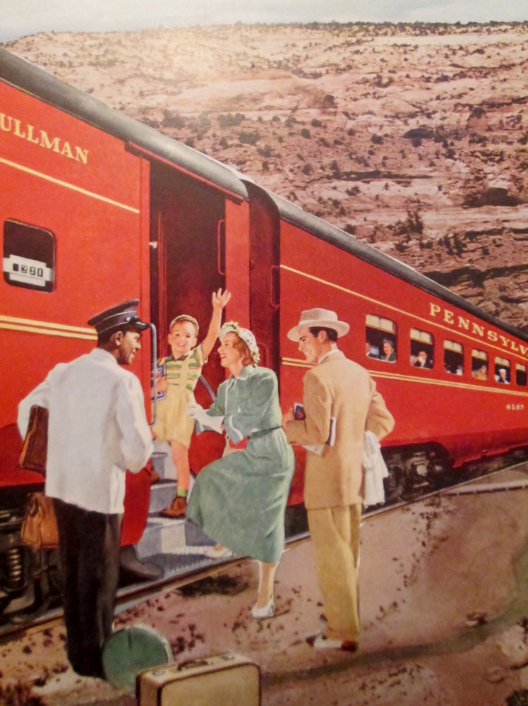 Boarding the Train to Nowhere by Jo Ann Tunnell Muench