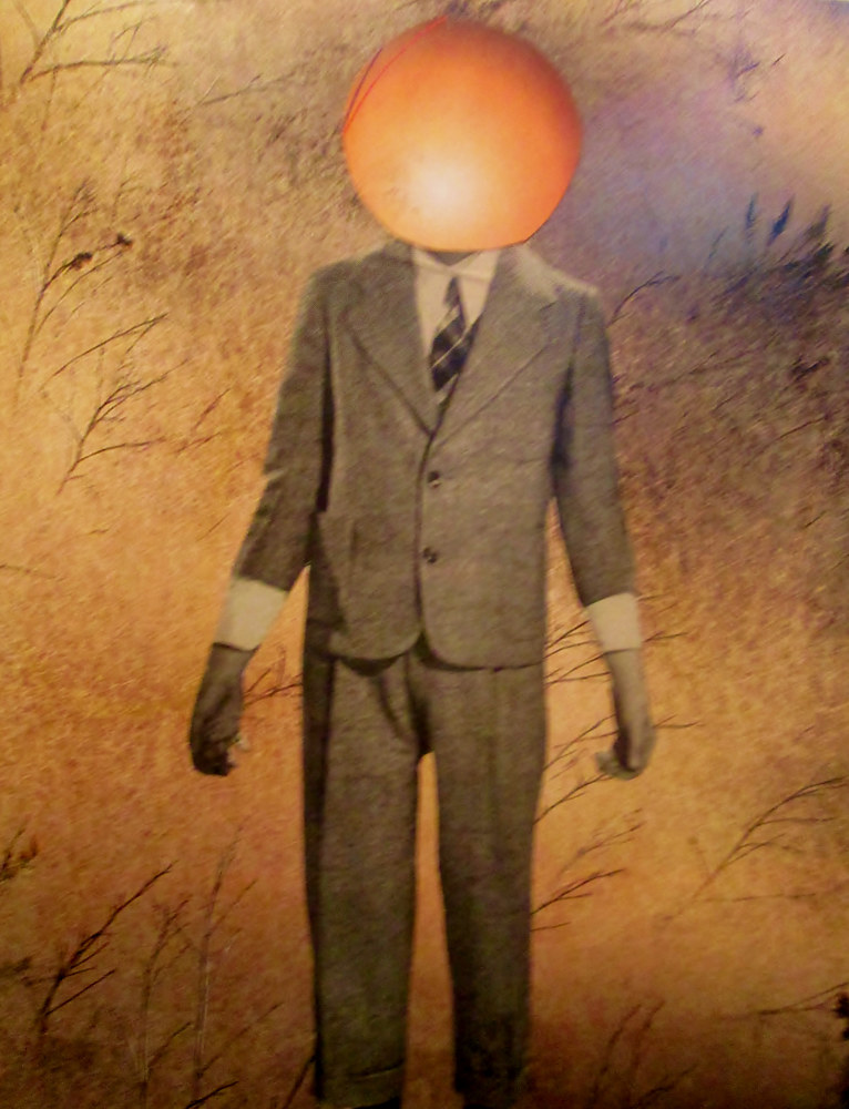 Boy With an Orange for a Head by Jo Ann Tunnell Muench