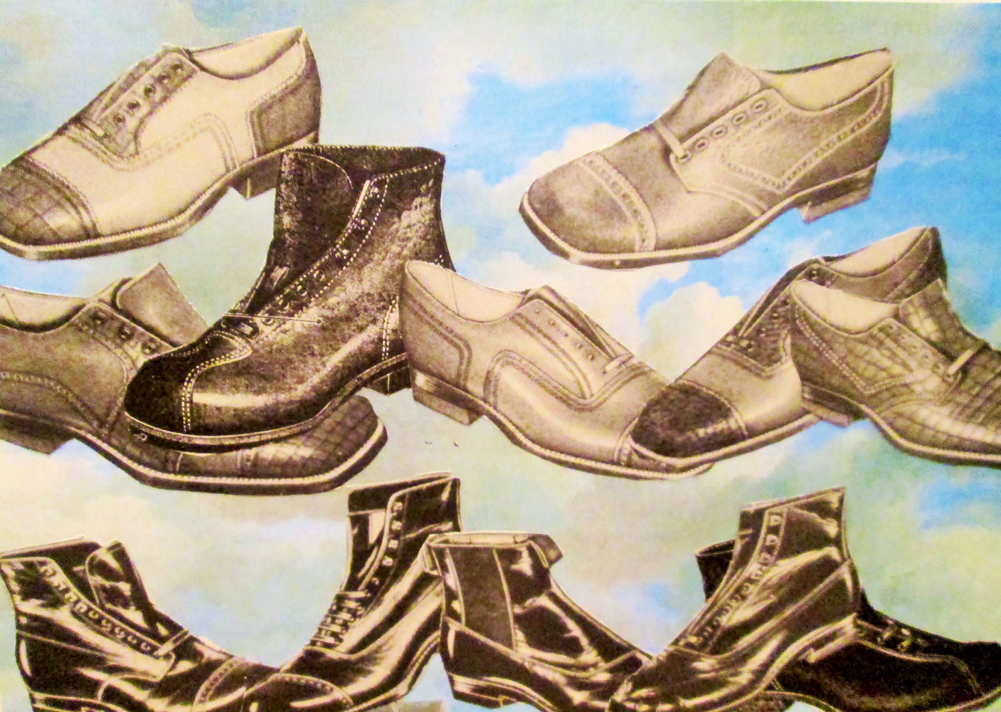 Flying Shoes  by Jo Ann Tunnell Muench