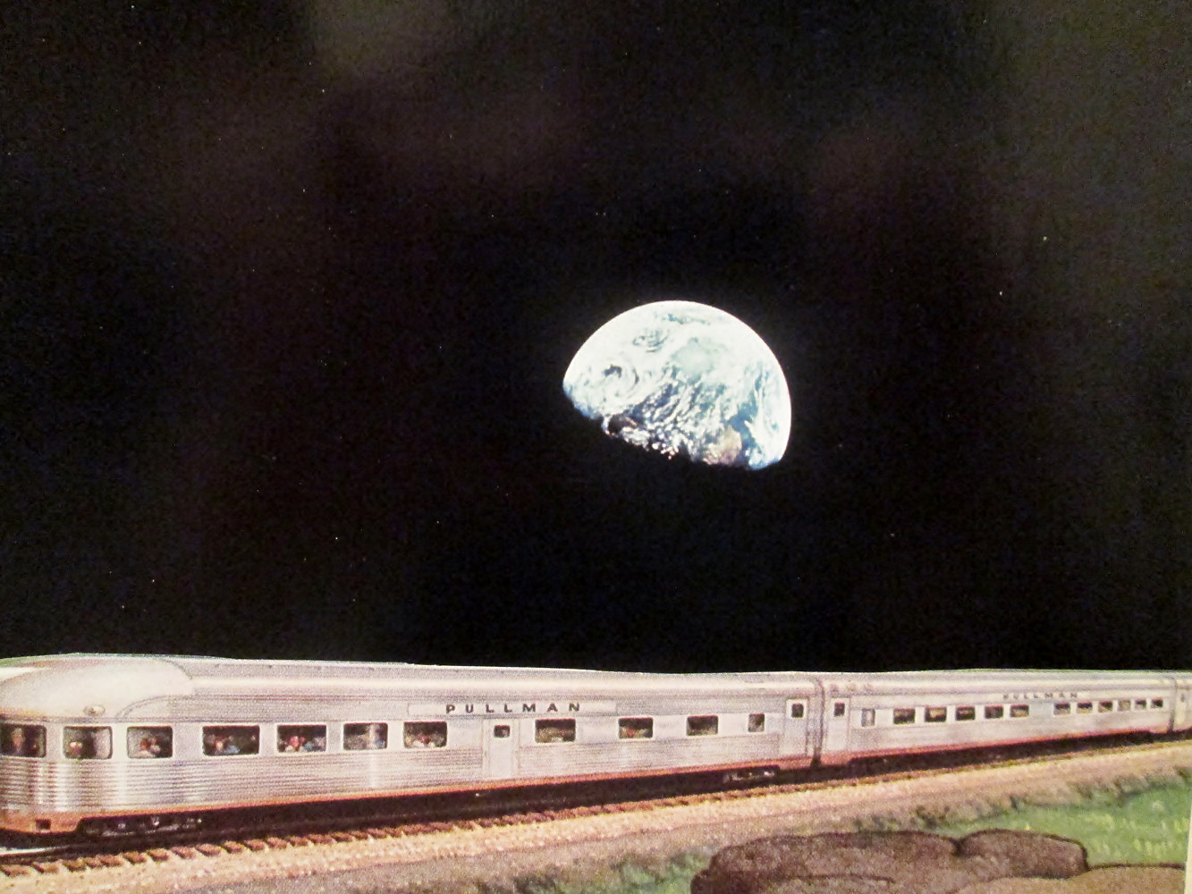 Fast Train Across the Moon  by Jo Ann Tunnell Muench