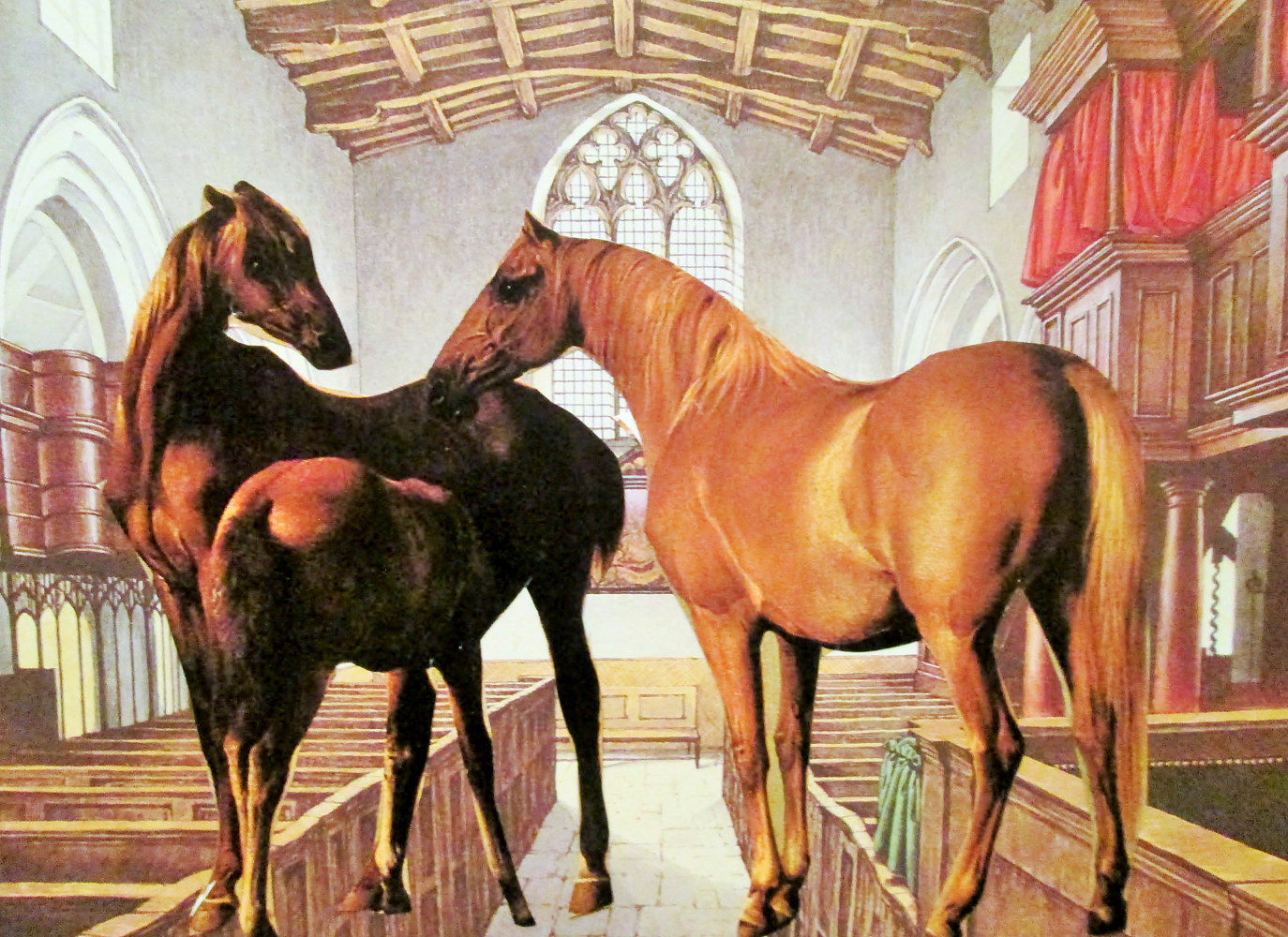 The Chapel of the Equine  by Jo Ann Tunnell Muench