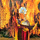 The Madonna of the Flames  by Jo Ann Tunnell Muench