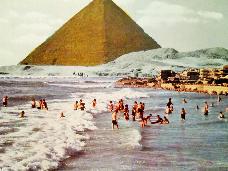 Swimming at the Pyramids  by JoAnne T. Muench