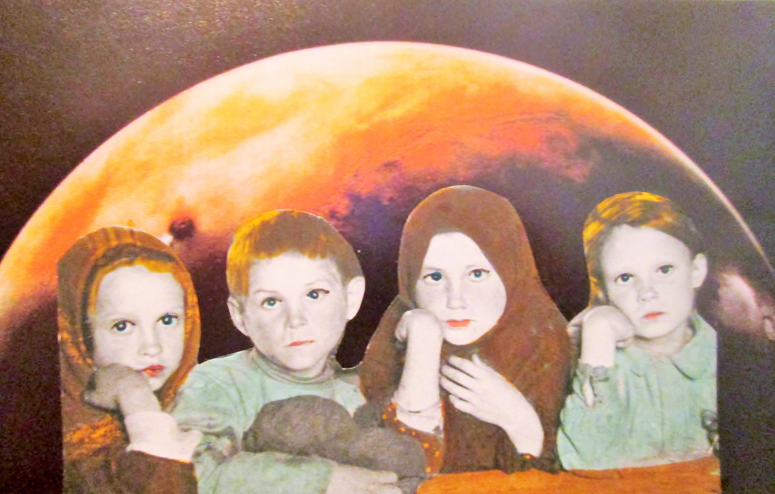 Children Beneath a Strange Moon  by Jo Ann Tunnell Muench