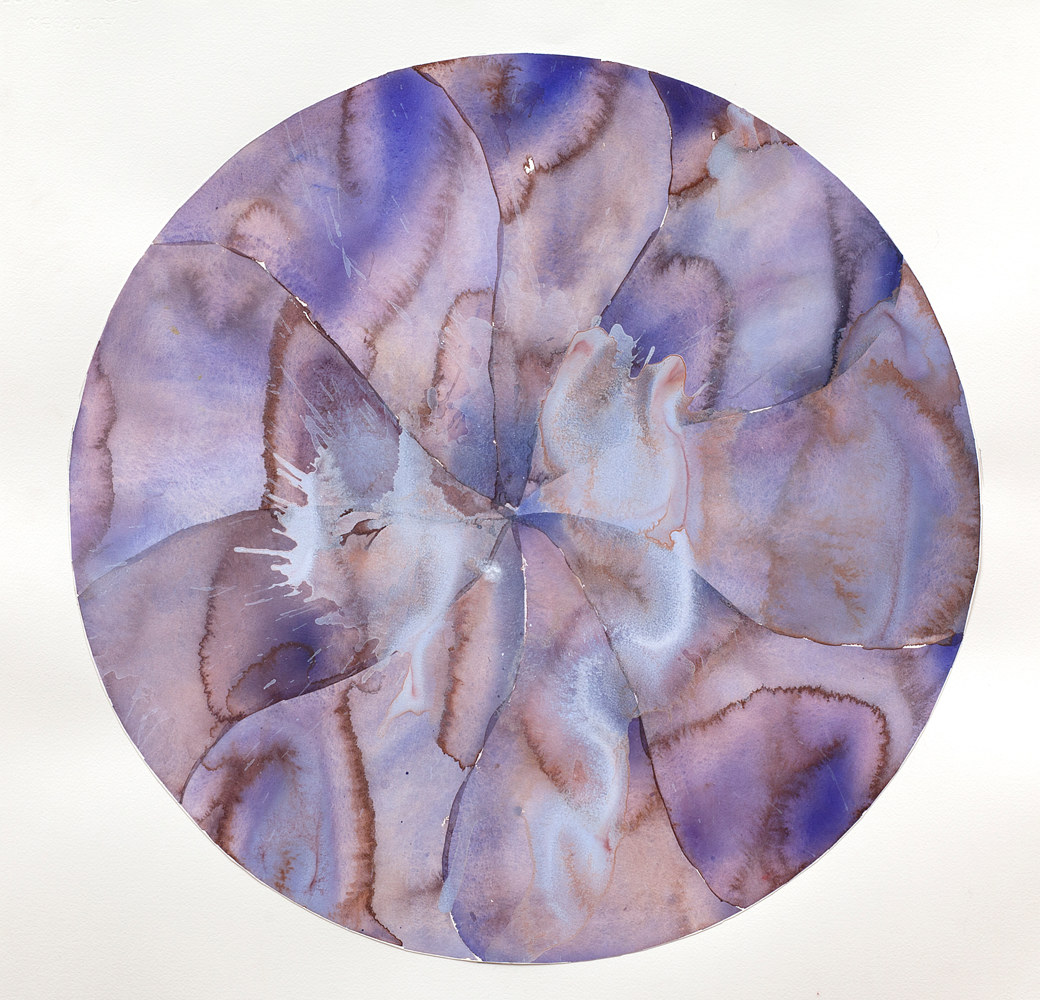 Watercolor Round Dance #2 by Clare Asch