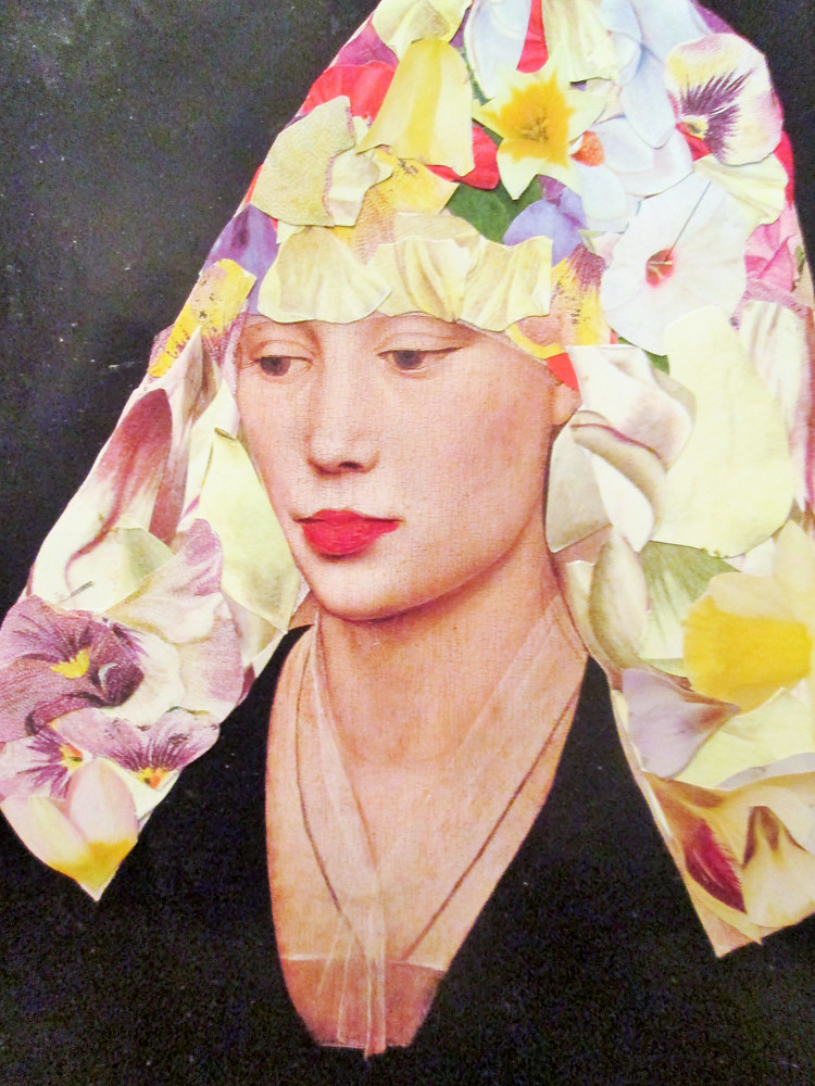 The Woman With the Flowered Veil  by Jo Ann Tunnell Muench