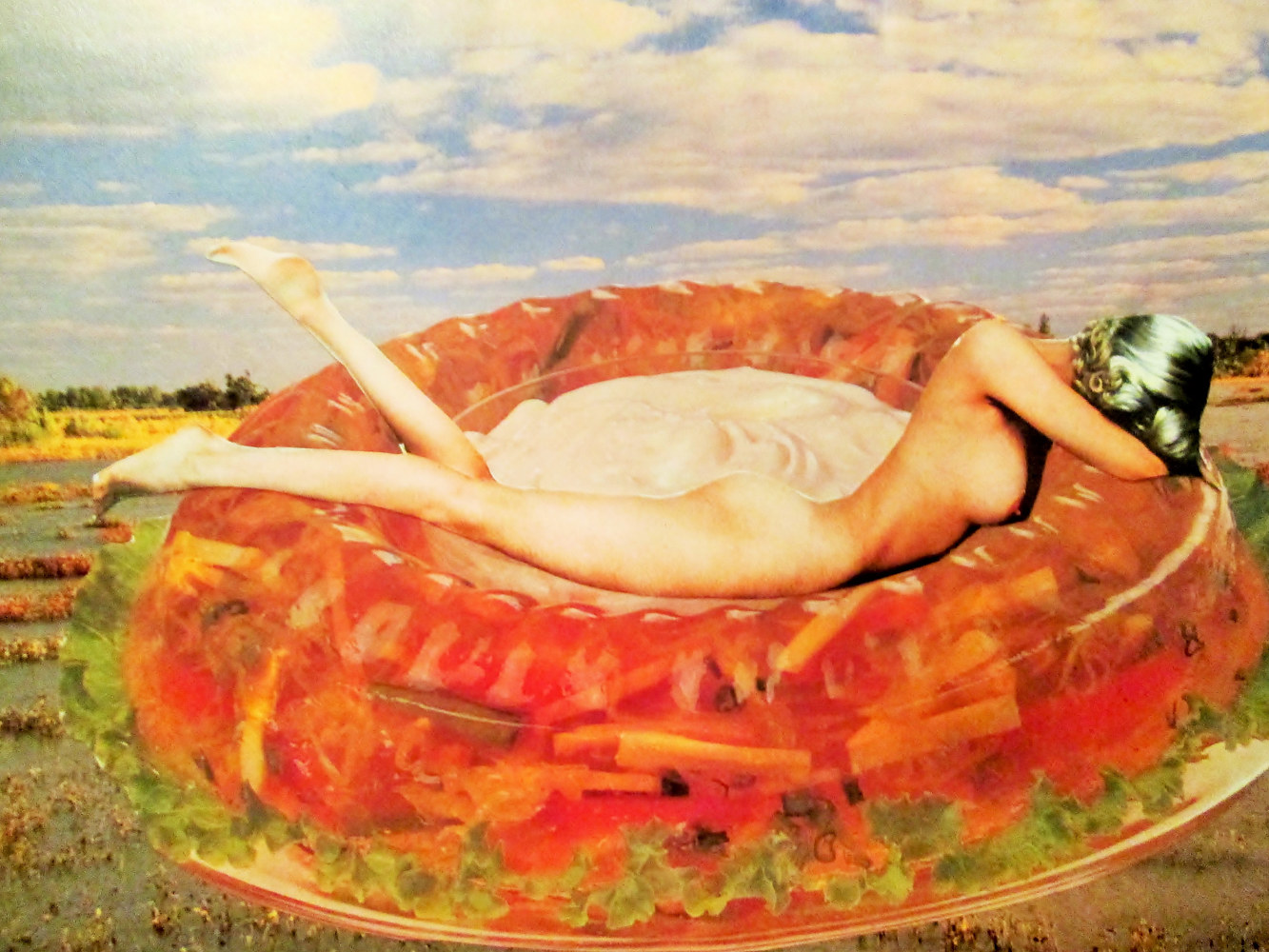 Nude in Aspic  by Jo Ann Tunnell Muench
