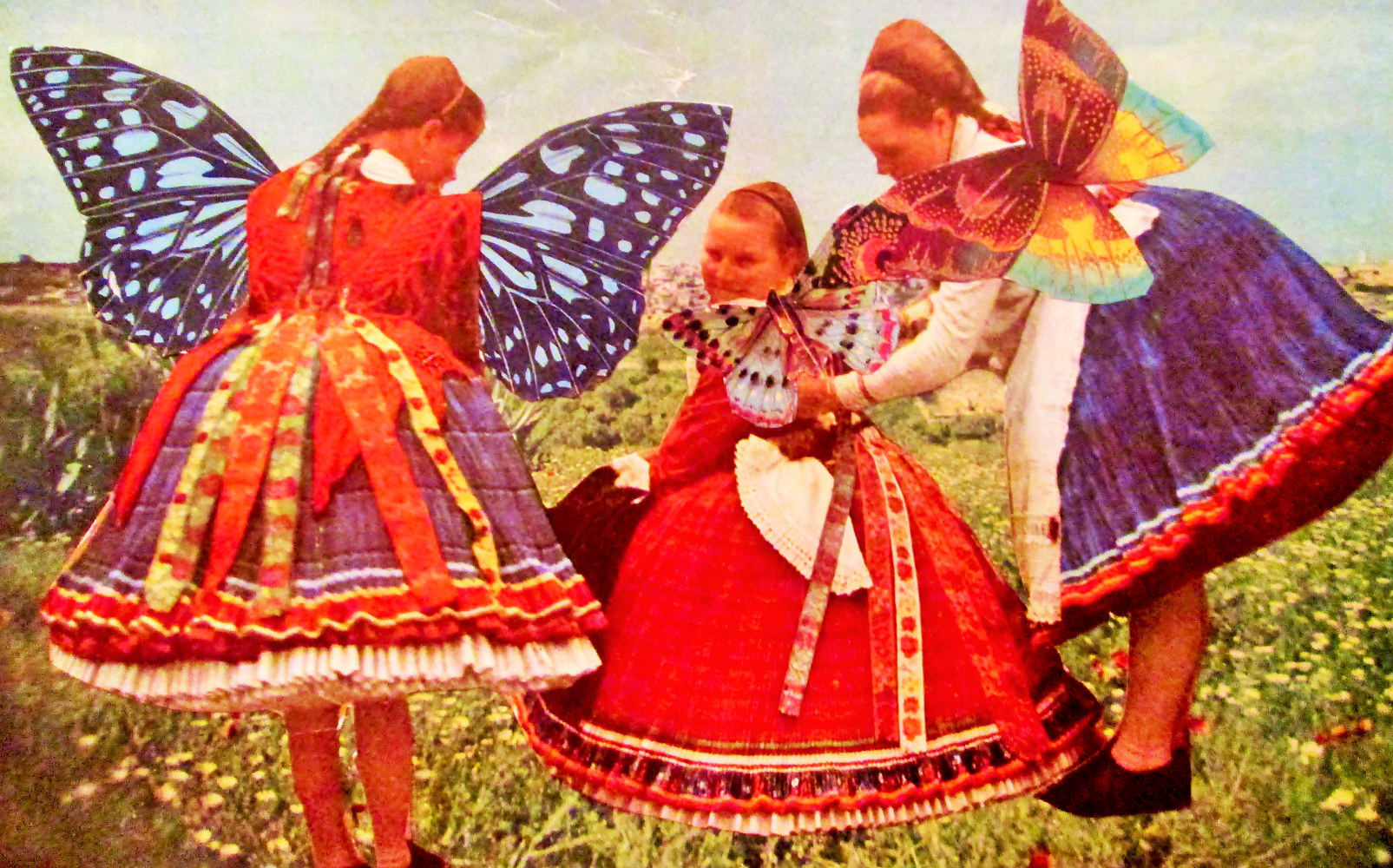Butterfly Folklorica  by Jo Ann Tunnell Muench