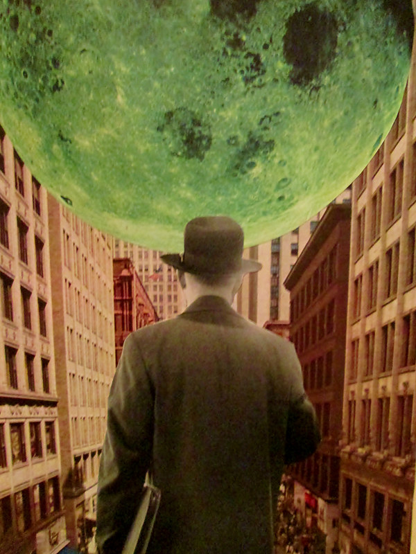 Now He Knows That the Moon Really Is Made of Green Cheese by JoAnne T. Muench