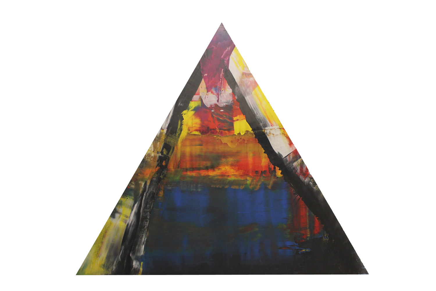 "A Bermuda Triangle ~ 48""x 42"" ~ 800 by Paul Catalanotto"