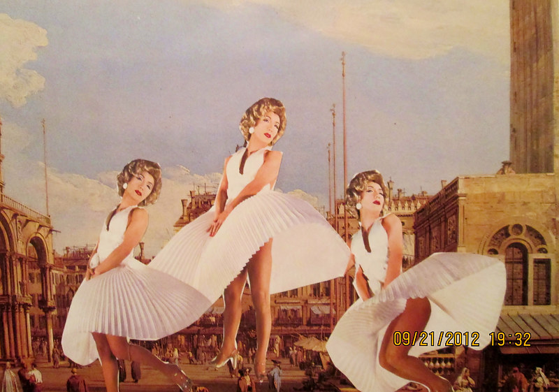 A Trio of Marilyn impersonators  by Jo Ann Tunnell Muench