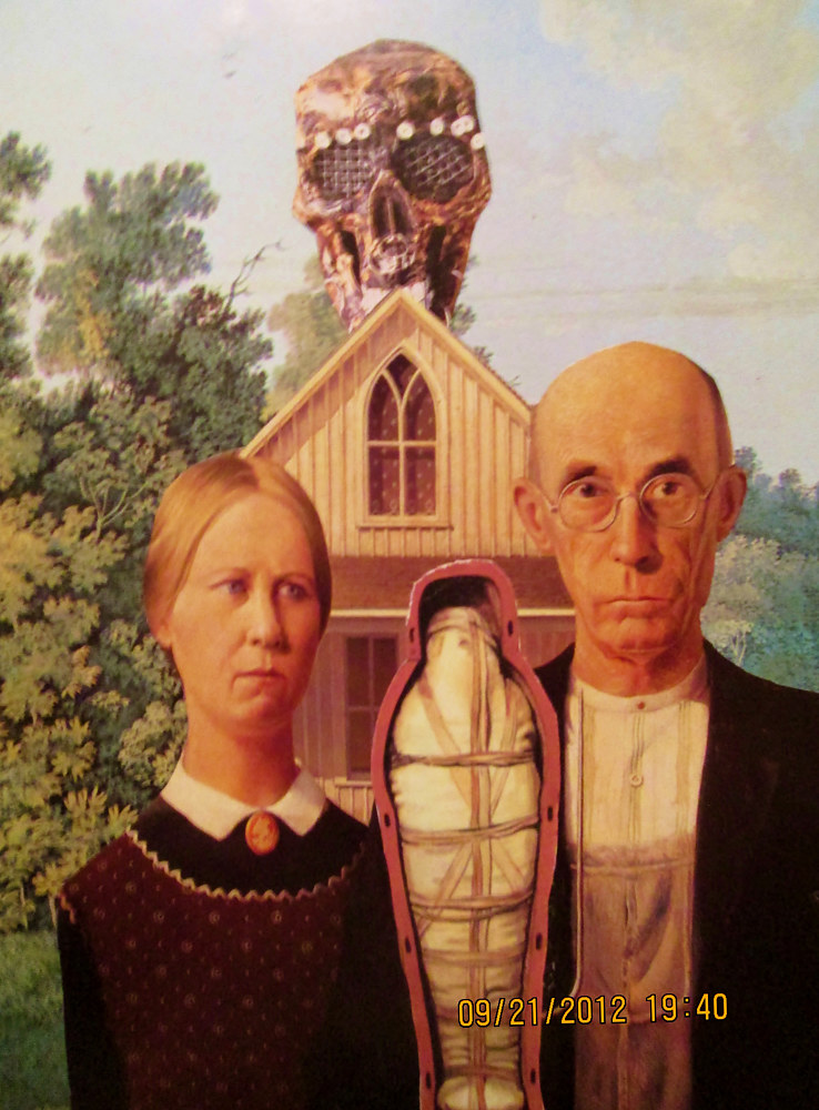 American Gothic Horror  by Jo Ann Tunnell Muench