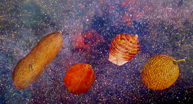 Yams in Space  by JoAnne T. Muench