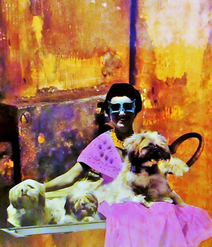 Homage to Peggy Guggenheim  by JoAnne T. Muench