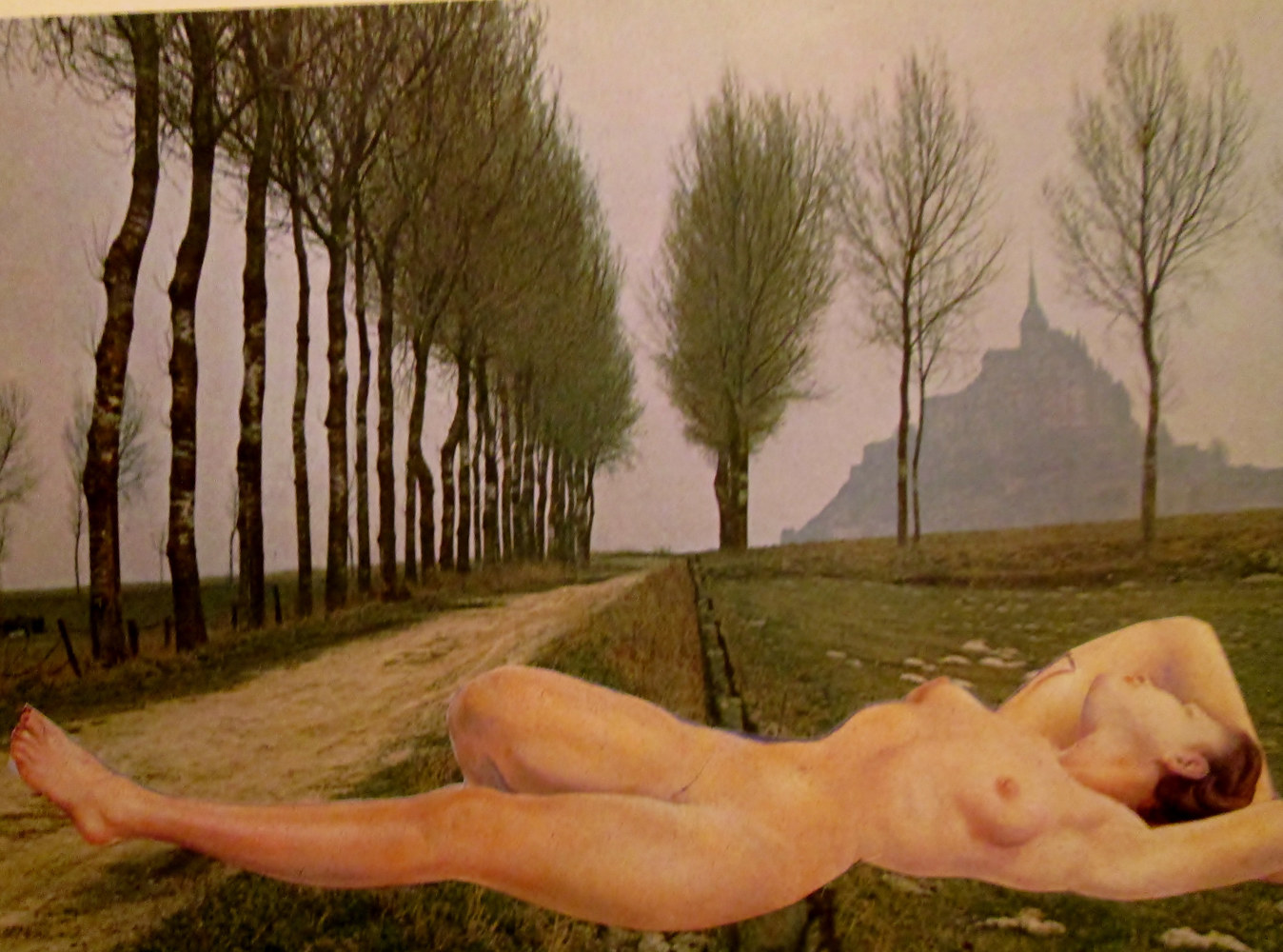 Nude on the Road to Nowhere  by Jo Ann Tunnell Muench