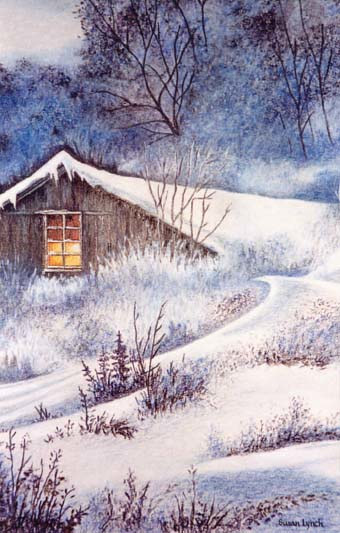 Drawing Snowed In by Susan Lynch