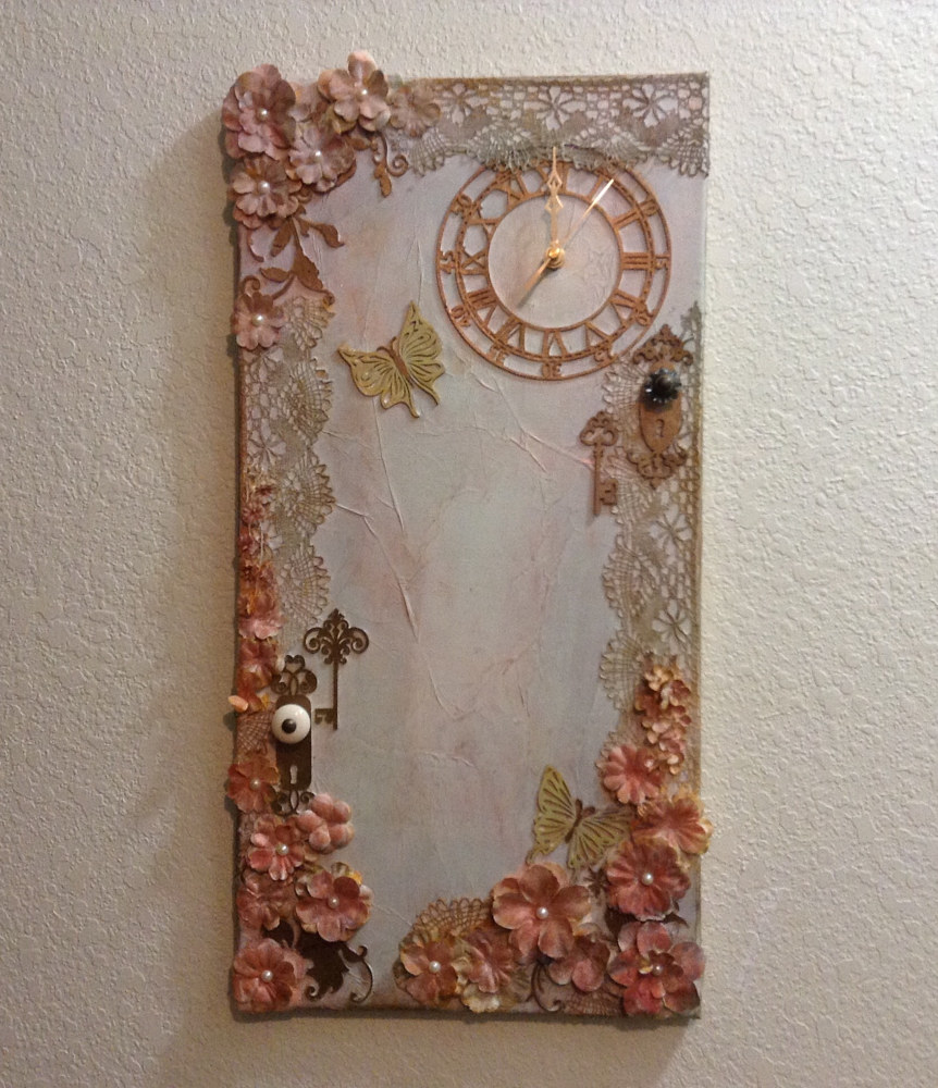 Painting Peach Victorian by Linda Cohen