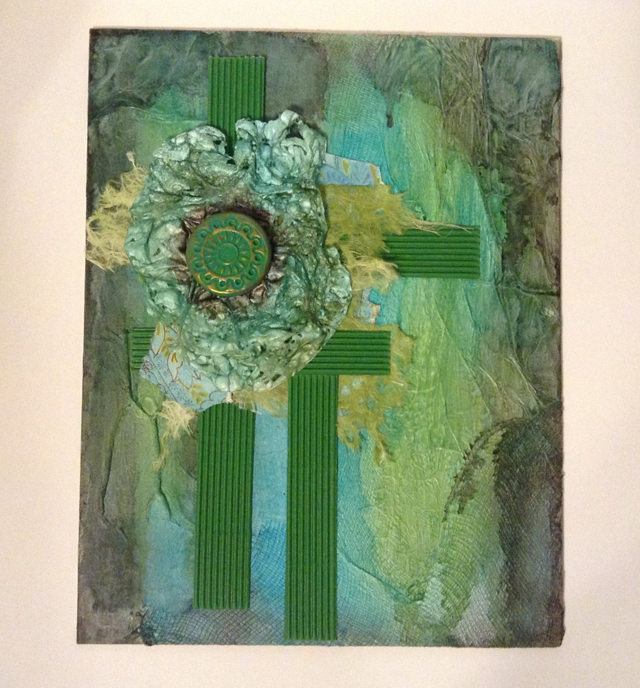 Drawing Blue to Green by Linda Cohen