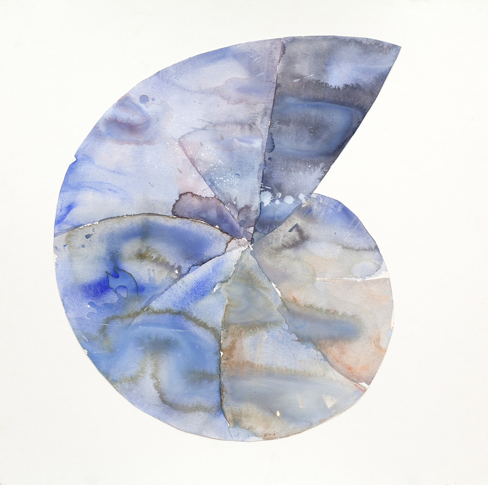 Watercolor Sarabande #6 by Clare Asch